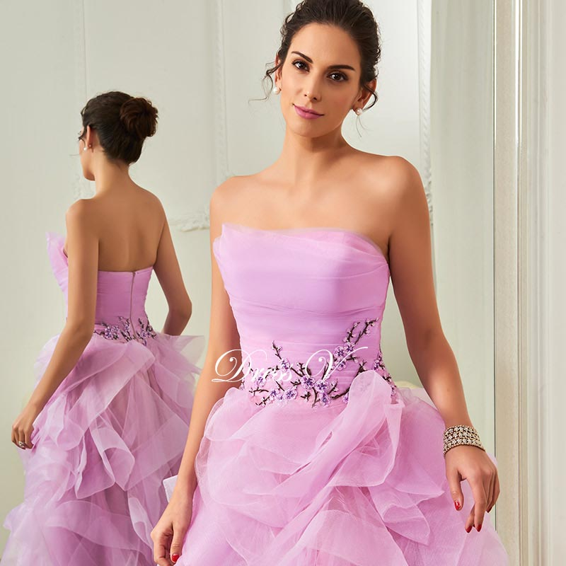 Perfecto Prom Peinados Para Vestidos Sin Tirantes Foto - Ideas de ...