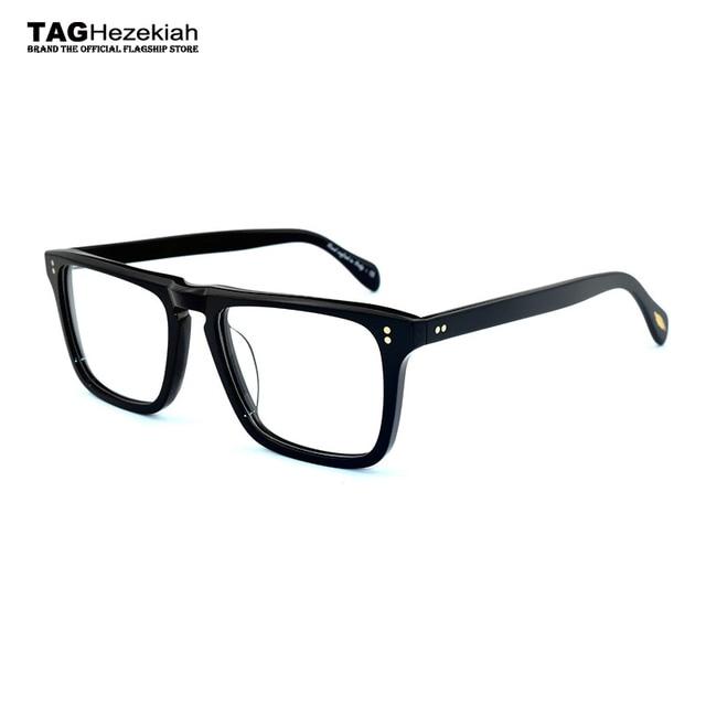 5b48a92b9d glasses frame 2018 new TAG Hezekiah Brand eyeglasses men women Retro  fashion myopia computer optical glasses