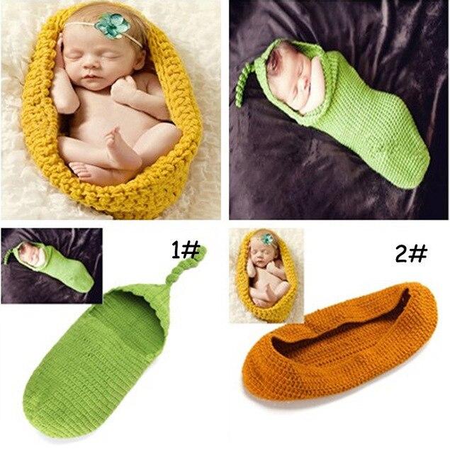 2016 Newborn Infant Baby Soft Sleeping Bag Children Baby Knitting Wrap Swaddle Beautiful Type Warm Baby Sleep Sack Free Shipping