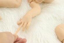NPK Brand 20 inch Rare  solid silicone reborn baby doll kits/bebe kit reborn bonecas