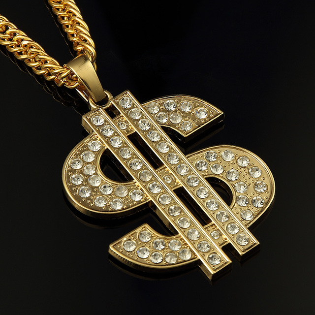 Alloy big us dollar necklace chunky necklace mens hip hop jewelry alloy big us dollar necklace chunky necklace mens hip hop jewelry bling bling chains necklaces pendants aloadofball Images