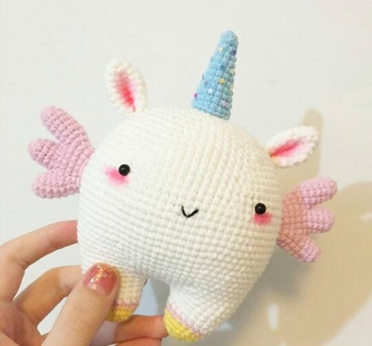 How to crochet a cute Korean doll part 2 / my amigurumi doll #1 ... | 502x540