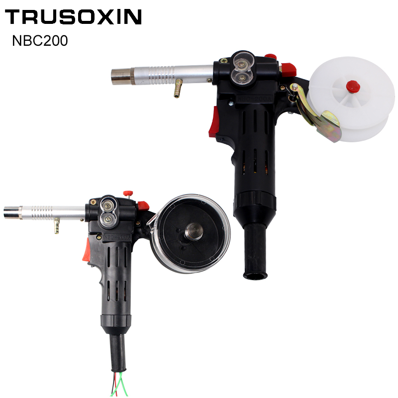 MIG welding machine Spool Gun Push Pull Feeder Aluminum copper or stainless steel DC 24V Motor Wire 0.6-1.2mm Welding Torch/Gun profesional mig welding wire copper mild steel rod electrode er70s 6 0 9mm 0 9kg 2lb spool abs lr shipping approval