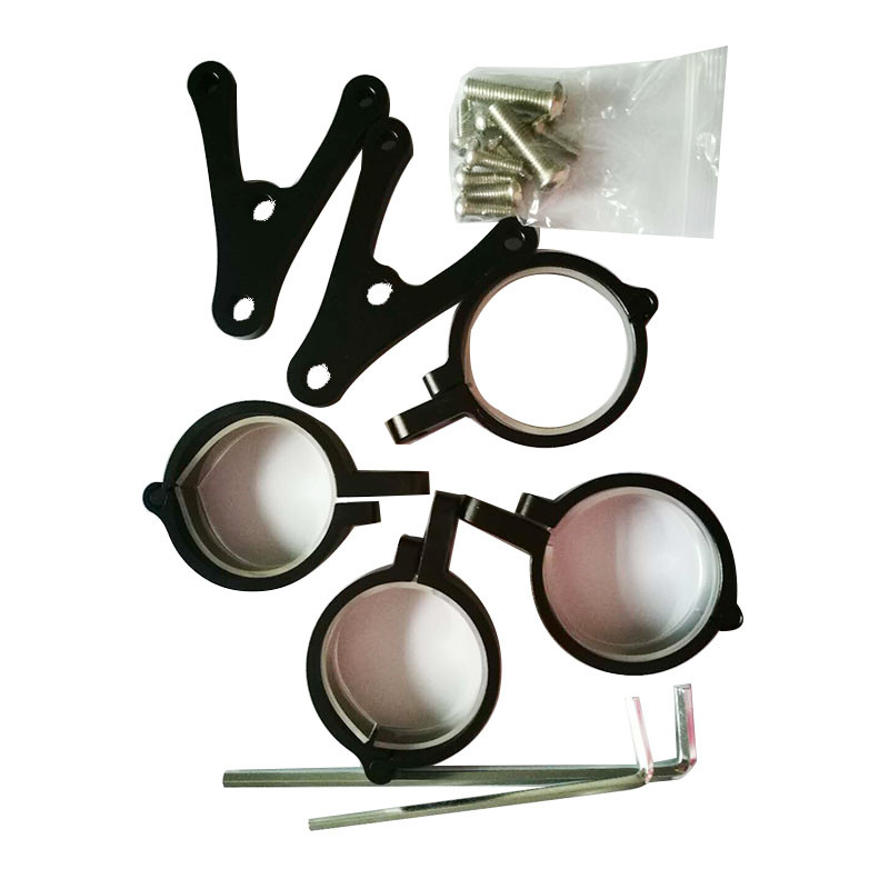Newest 7 inch headlight housing bucket Mounting bracket Adjustable for Motorcycle harley Yamaha 7'' headlamp housing