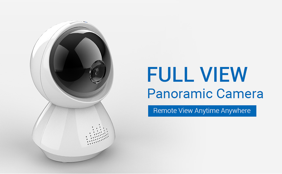 H.VIEW 1080P Panoramic Camera 180 CCTV Camera 720P IP Camera Wifi Camara IP Fisheye Video Surveillance Cameras (1)