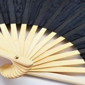 Image 5 - 18 색 무대 공연 속성 댄스 팬 100% 실크 베일 컬러 180cm 여성 밸리 댄스 팬 베일 (2 개)