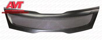 Pad on radiator grille with protective mesh for Kia Rio 3 2011-2015-2016 sport racing accessories car styling decoration tuning