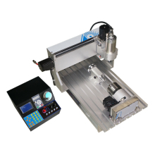 4 axis wood router cnc 6040VH 2200W spindle metal engrave drilling machine with free cutter vise collet  kits