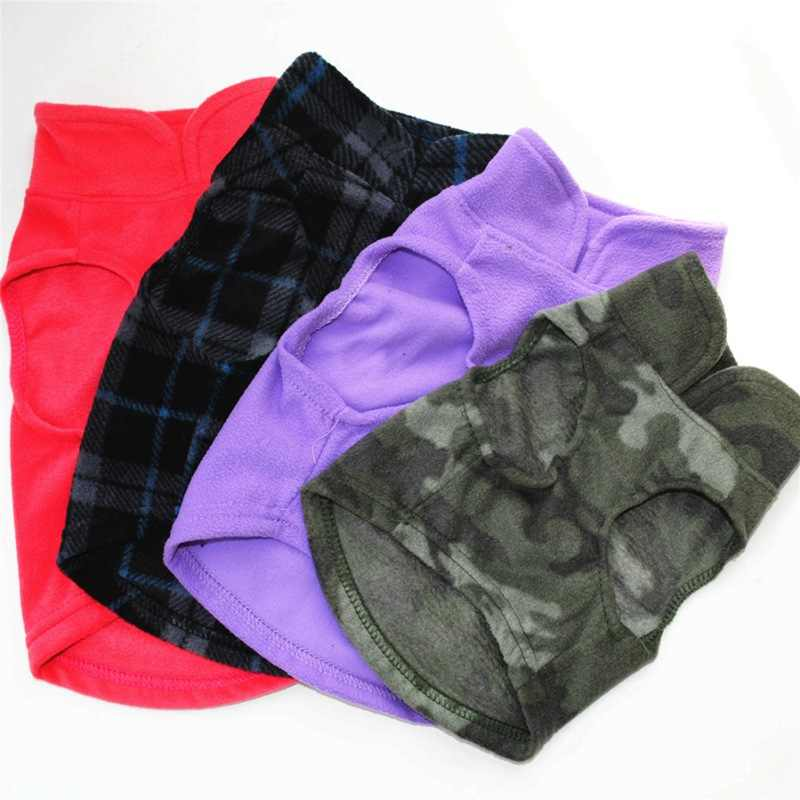 Жилет из флиса для домашних животных на осень и зиму, шерстяные вещи для домашних животных, пальто для собак, куртка для собак, костюмы для собак, оптовая продажа одежды для животных