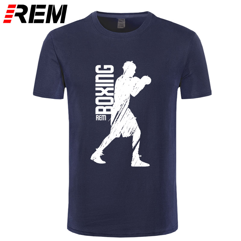 High Quality Funny T Shirts Men Best Boxinger T-Shirt Rocky Short Sleeve Tee Shirt Adult Summer Tops