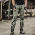 AIRGRACIAS мужские Брюки-Карго Повседневные Мужские Брюки Мульти Карманные Военные Габаритные Мужчины Высокое Качество Армии Длинные Брюки Pantalon Homme