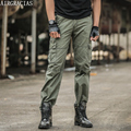 AIRGRACIAS calças da Carga Dos Homens Calças Dos Homens Calça Casual de Multi Bolso Militares Homens Do Exército de Alta Qualidade Geral Calças Compridas Pantalon Homme