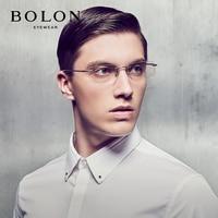 06ef2796a84ca0 BOLON Rimless Eyeglasses Frames Titanium Men Glasses Frames Man Eye Degree  Glass Myopia Near Sight Optical
