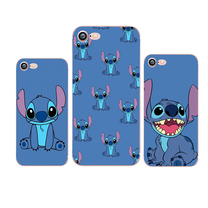 Cute Stitch Phone Case for iphone 7 Capa Cover Coque For Iphone X 7 plus 8 plus 5 5S SE 6 s 7 8 Xs Case Soft Silicone Cover