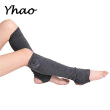 d50743a963 Women's Pilates Scosks Autumn Winter Knitted Thickening Yoga Boot Socks  Cover Leg Warmers Comfortable Socks(