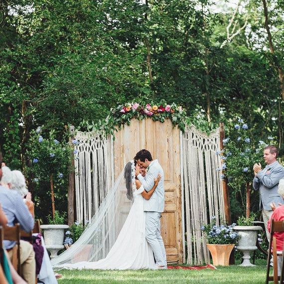 Wedding Altar For Sale: Aliexpress.com : Buy Macrame Wedding Arch Bohemian Photo