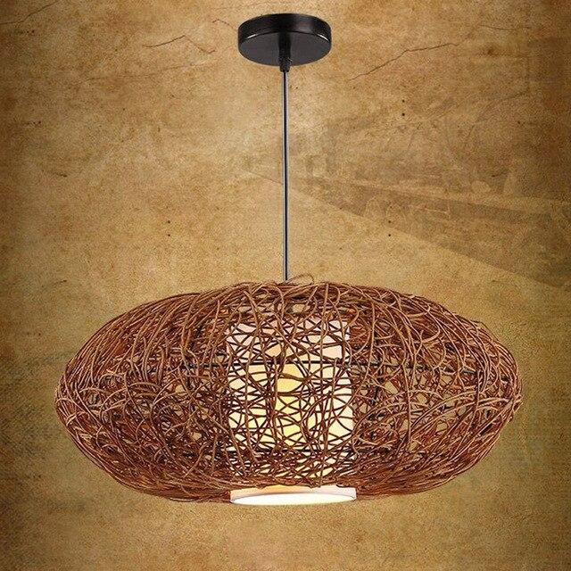 18 handmade rattan pumpkin shape style pendant fixture pendant light fixture cord pendant lights cheap