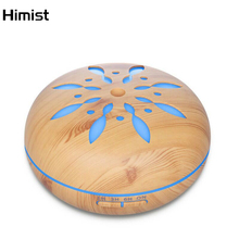 Household Aromatherapy Humidifier Aroma Diffuser Wood Grain Large Capacity Ultrasonic Air Purifier Fogger Essential Oil Diffuser ejoai cool electric diffusers aroma purifier wood and glass aromatherapy fogger with 7 colors led light ultrasonic humidifier