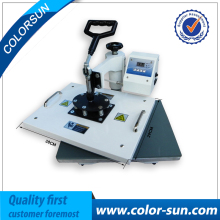New Multifunction Automatic 9 in 1 combo heat press sublimation machine on hot selling
