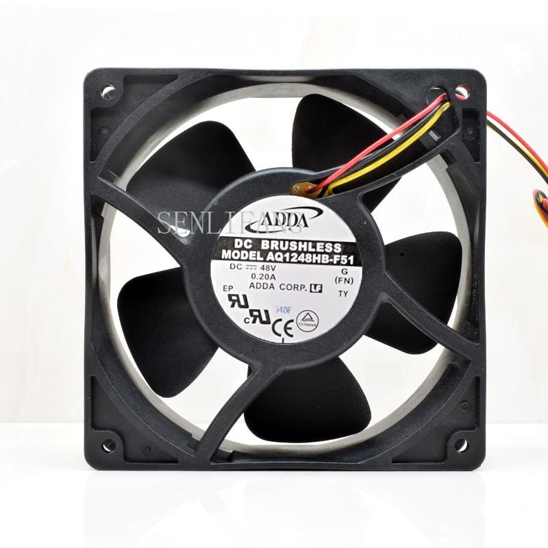 AQ1248HB-F51 48V 12038 12CM Waterproof Cooling Fan