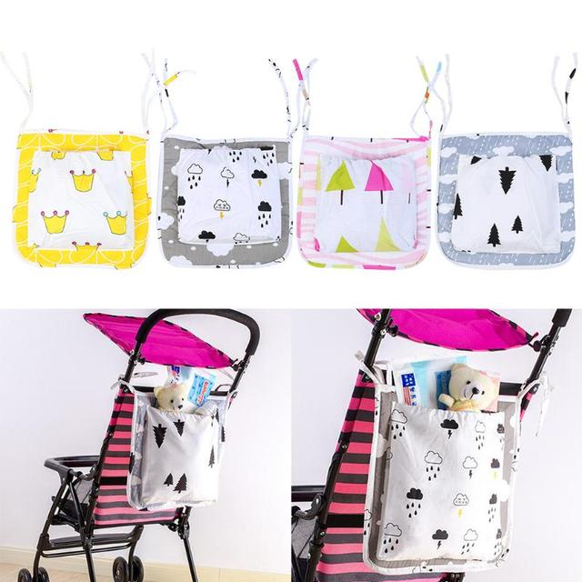 c33ee99fc Baby Cart Stroller Hanging Storage Bag Baby Carriage Cot Bed Hanging ...