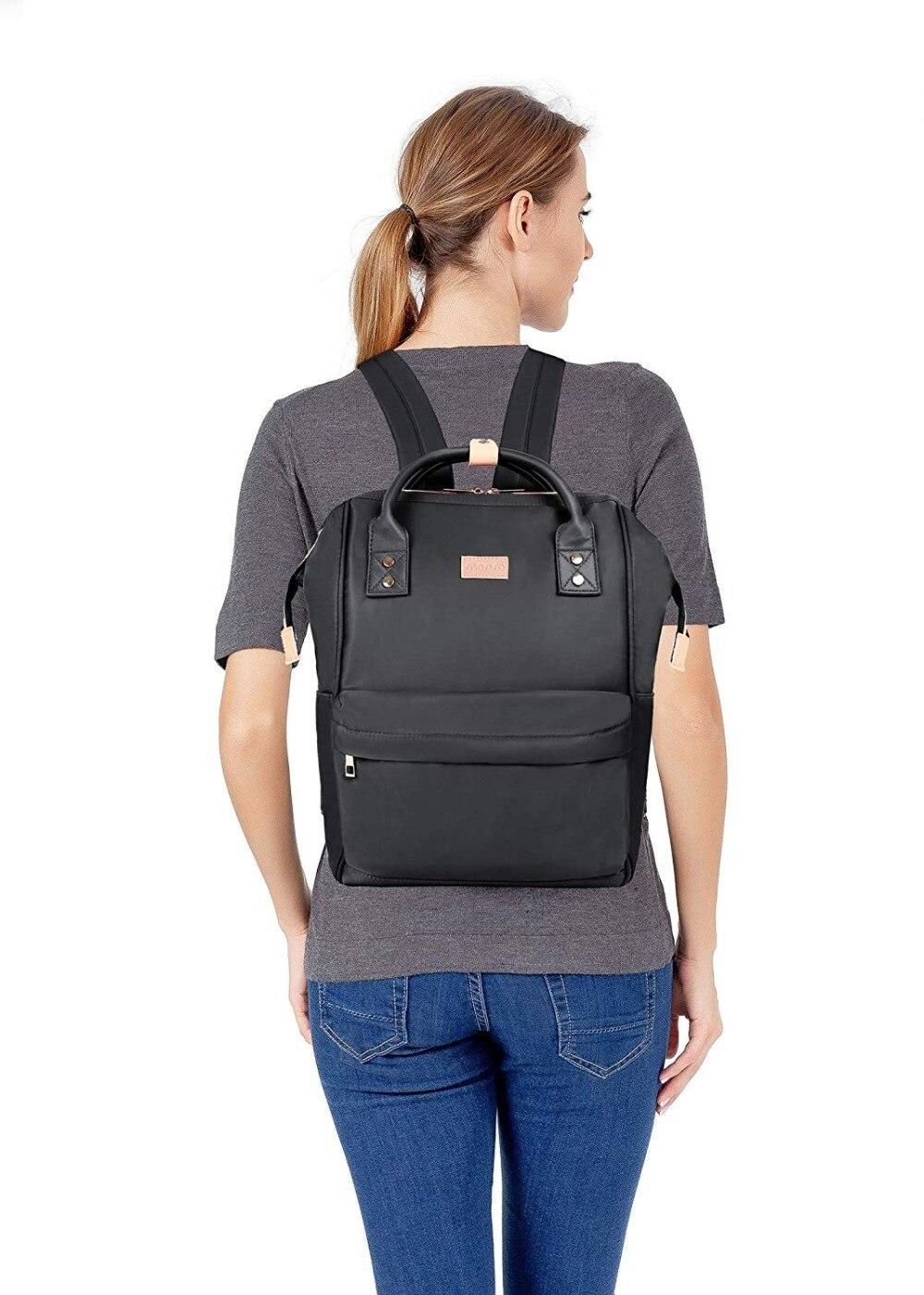 MOSISO 2019 Femmes Sacs À Dos Ordinateur Portable sac à bandoulière Hydrofuge Polyester Voyage Dames Bagpack sacs d'écolier Pour Filles/Garçon/Homme