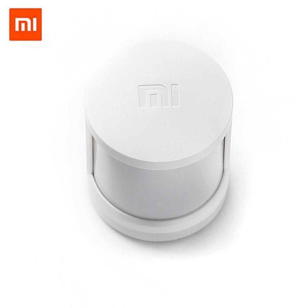 imágenes para Original xiaomi mi mijia infrarrojos motion sensor inteligente sensor de cuerpo humano para seguridad en el hogar casa inteligente