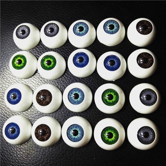 F Fityle 50 Paar Puppe Aug/äpfel Sicherheitsaugen Puppenaugen aus Acryl F/ür Puppe DIY Herstellung Zubeh/ör 4 mm