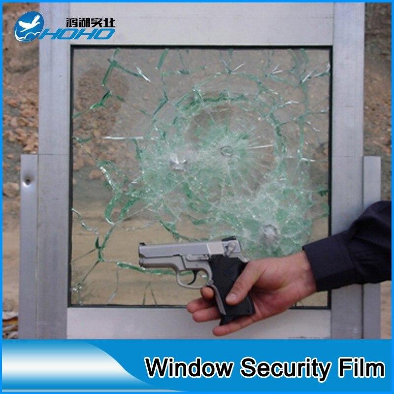 60 дюймов на 100 футов безопасности Плёнки 8mil толщина поверхности Защита Защитный Плёнки для Оконные рамы, строительство, anti Scratch безопасности