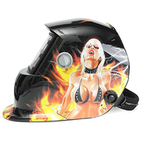 Promotion Welding Mask Hood Welding Helmet Solar Automatic Solar Power For Recharge Face Protection Sexy Beauty