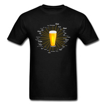 Carnival Dionysia Street T Shirts Ale Beer Different Languages Of World Text Men Tshirt Oktoberfest Beer Festival Happy T-Shirts