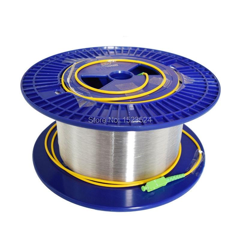 Fiber Optic OTDR Launch Cable Singlemode 9/125um 1km LC/FC/SC/ST APC/UPC Connector Available
