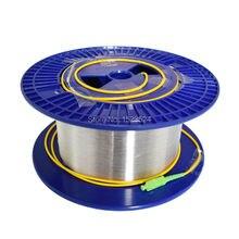 OTDR Lanzamiento de Cable de fibra Óptica Monomodo 9/125um 1 km LC/FC/SC/ST APC/UPC Conector Disponible