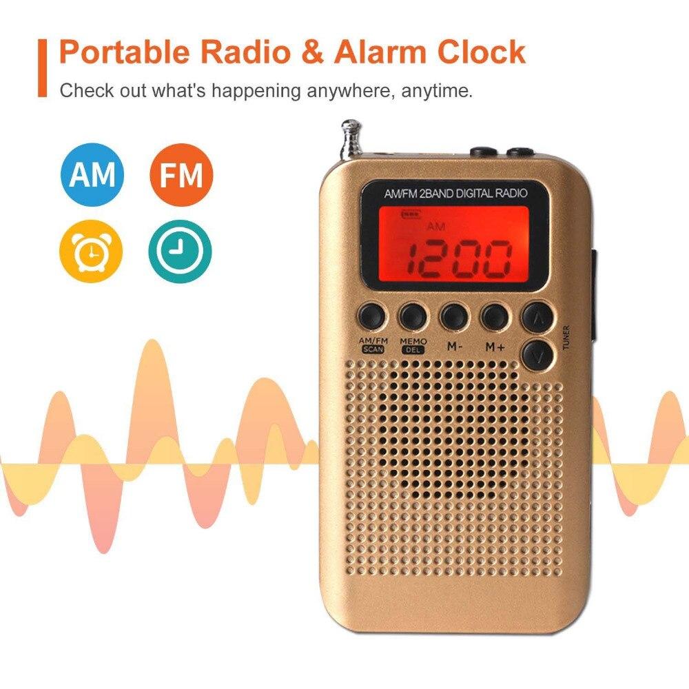 E3316-Gold Mini Radio-3
