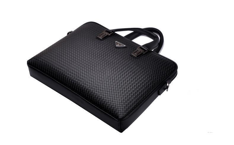 Fashion Genuine Leather Men's Messenger Bags Man Portfolio Office ...