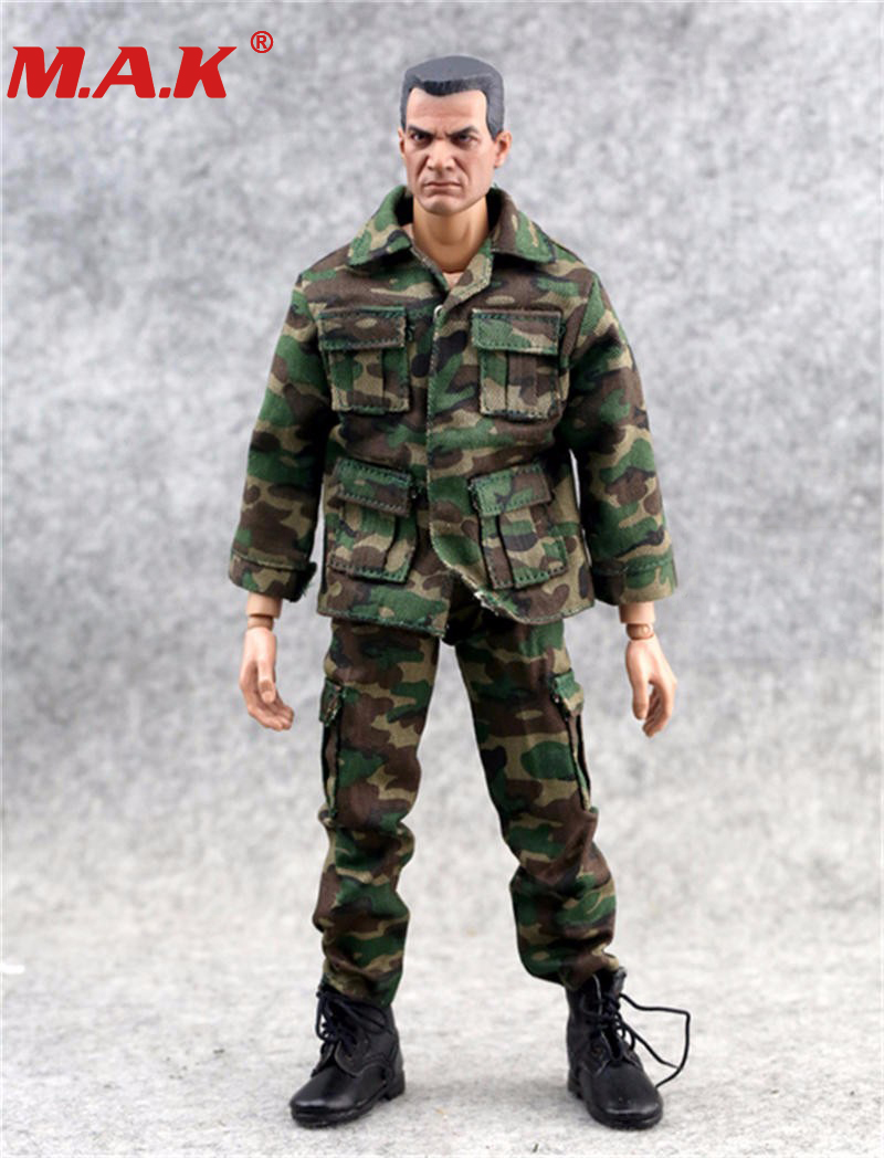 1:6 Scale Clothes Set Soldier Camouflage Uniforms for 12inch Military Figure