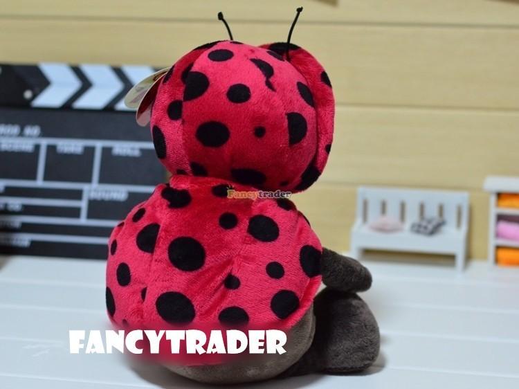 Fancytrader 20\'\' 50cm Copyrighted Plush Stuffed NICI Happy Spring Time Ladybug FT90400 (4)