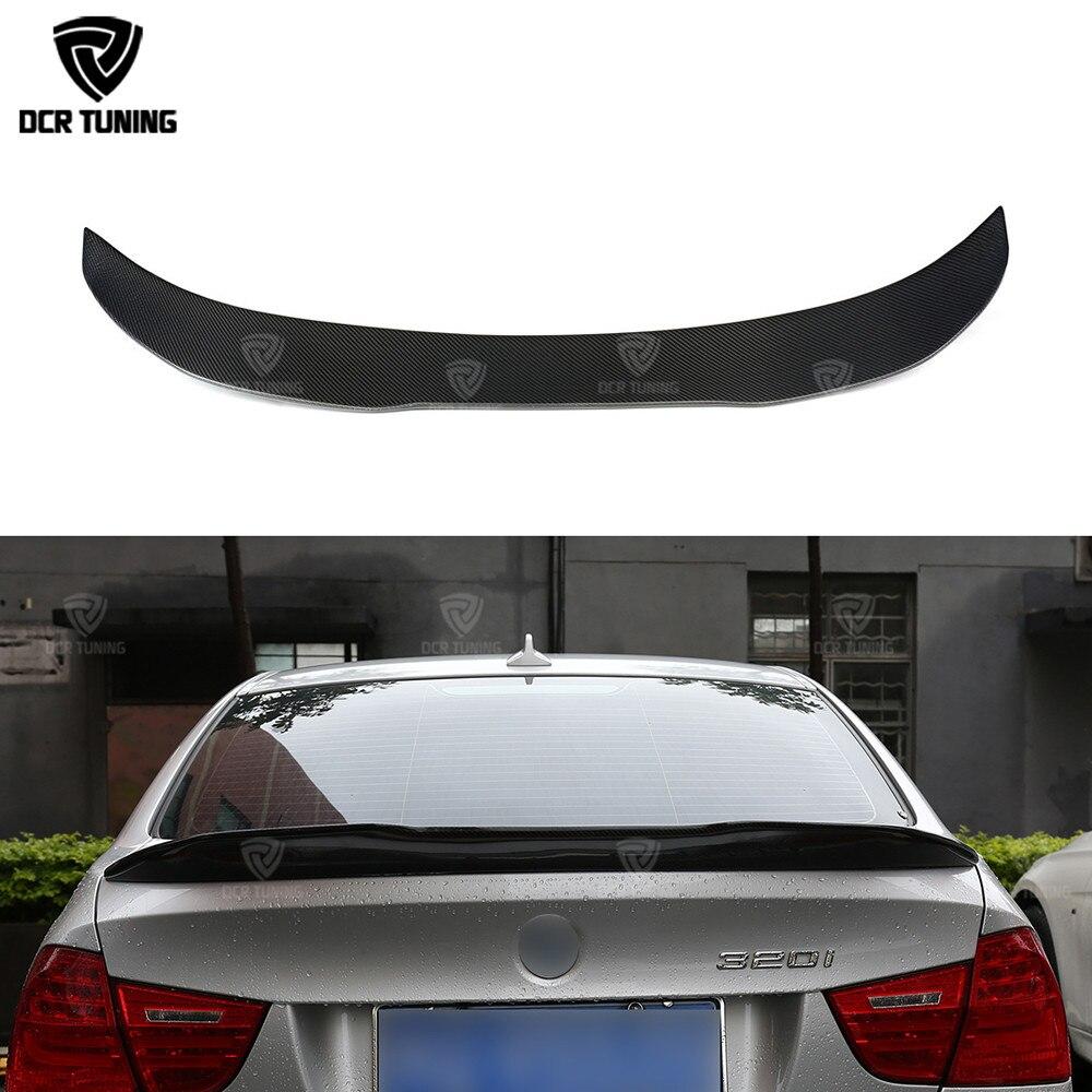For BMW E90 /& E90 M3 Carbon Fiber Rear Spoiler Trunk Lip Wing P Style 2005-2011
