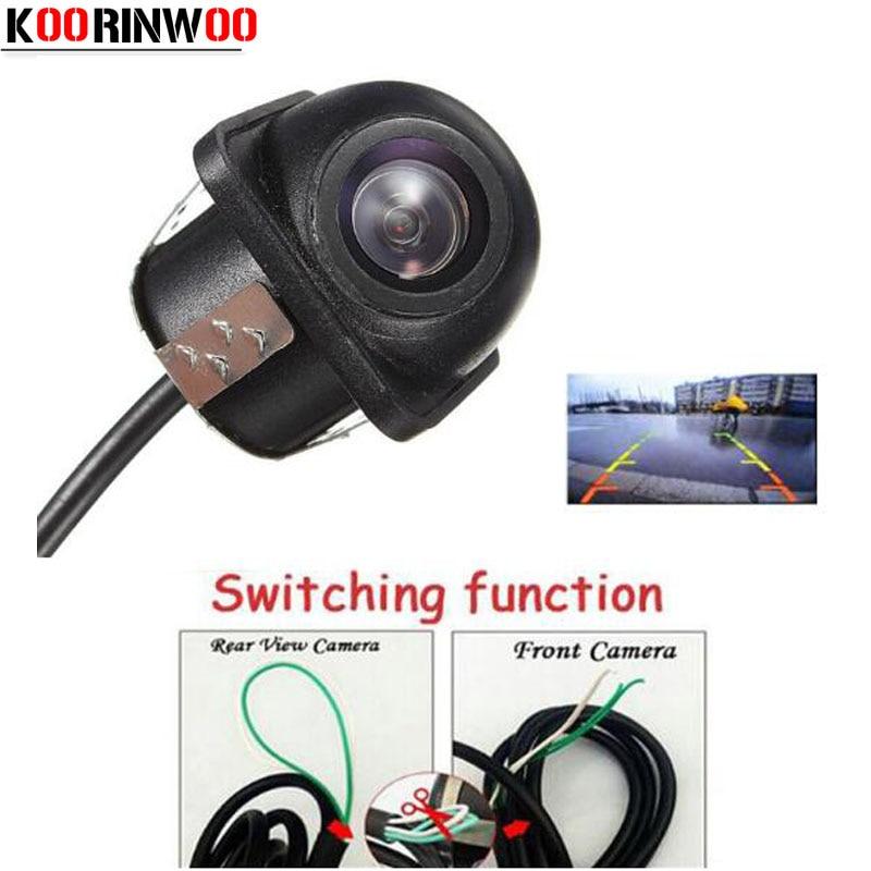 Koorinwoo CCD 170 градусов Автомобильная камера заднего вида/фронтальная камера переключения заднего хода резервная Автомобильная камера парковк...
