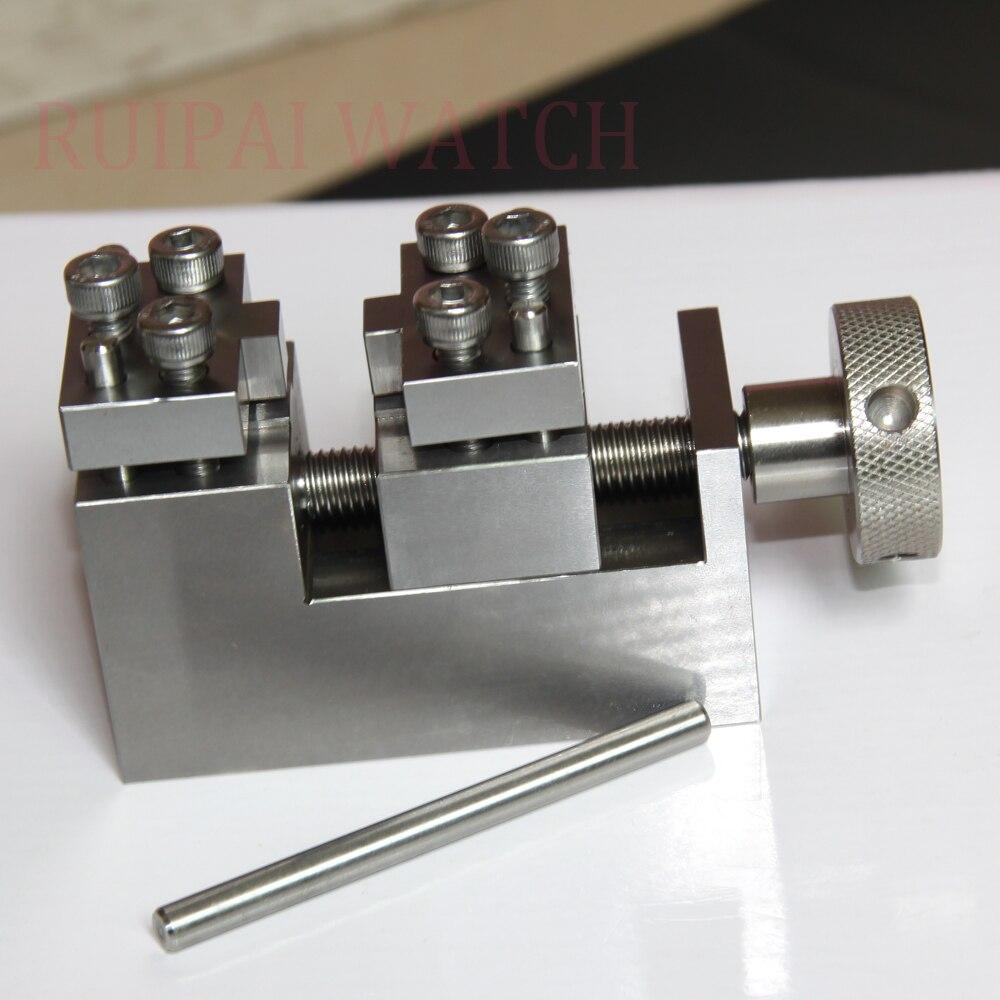 สแตนเลสโลหะวงลิงค์Removerของหอยนางรมสไตล์สำหรับRlxนาฬิกา-ใน เครื่องมือและชุดซ่อม จาก นาฬิกาข้อมือ บน   1