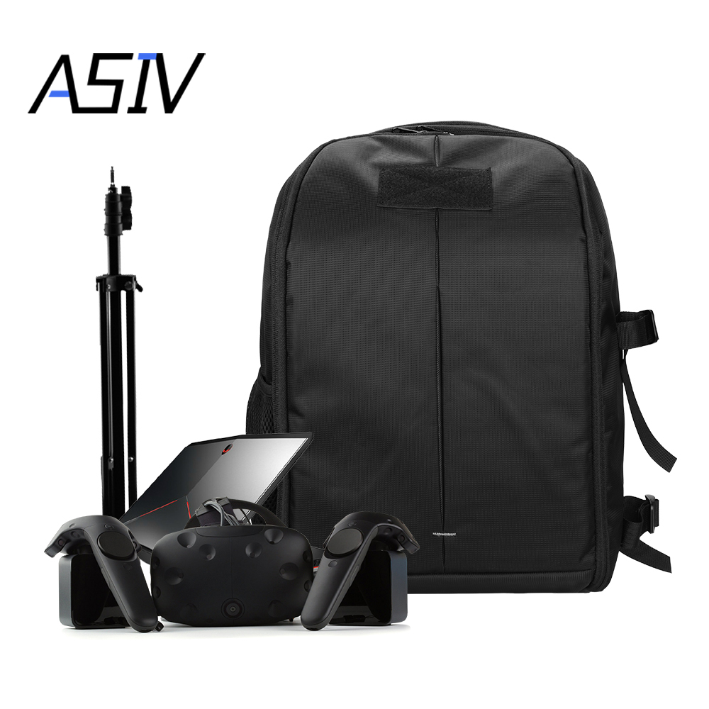 Game Accessories For The Largest Room Size Travel System Storage Carry Case Shoulder Bag For SONY HTC VR PS4 PSVR Glass Helmet bubm storage bag deluxe travel case for playstation vr psvr headset and accessories waterproof dustproof shockproof handbag