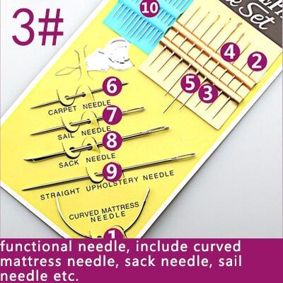 1 упаковка штифтов из нержавеющей стали для рукоделия, рукоделие, аксессуары для шитья - Цвет: NO 03
