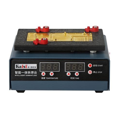 Controle de Temperatura Plataforma em Camadas para Iphone Placa-mãe Desoldering Estação v 220 Inteligente Cpu Aquecimento x xs Xsm K-303 110