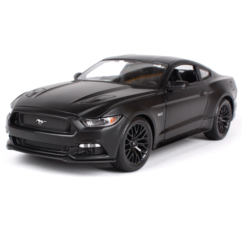 Maisto 1:18 2015 ford mustang gt red yellow blue black car diecast cooling car toy model for men collecting car models 31197 hot sale ford mustang police 1 18 welly s281 original alloy car model toy matte black fast
