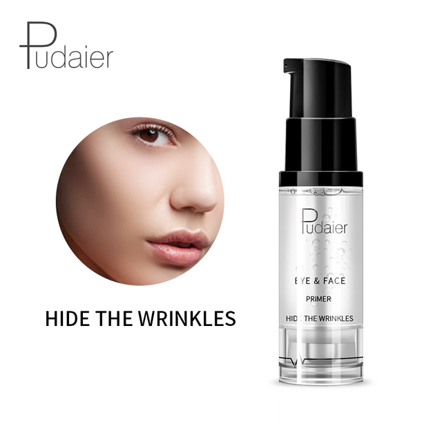 Pudaier Face Primer Makeup 8ml Liquid Smooth Fine Lines Oil-control Brighten Eye Primer Eye Shadow Foundation Facial Makeup Base 1
