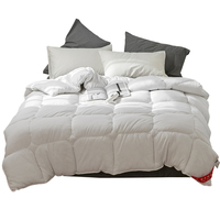 100% White Goose Down Comforter for Winter and Summer Duvet Insert Blanket Filling King Queen Twin Size Feather Down Quilt Duvet