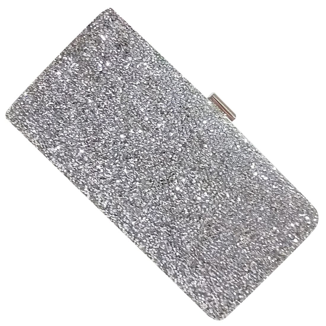 FGGS-Woman Evening bag Women Diamond created Rhinestone Clutch Crystal Day Clutch Wallet Wedding Purse Party Banquet, Silver woman evening bag women diamond rhinestone clutches crystal day clutch wallet wedding purse party banquet evening bags classic