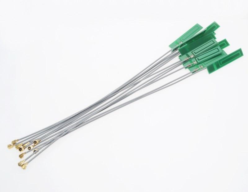 10Pcs Wifi 2.4G 3Dbi Pcb Antenna Ipex Ipx Wlan Laptop Bluetooth Zigbee Wireles l