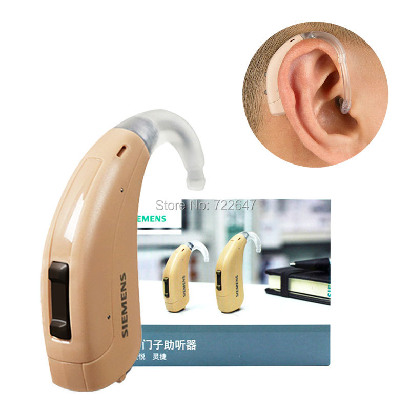 Siemens Digital Wireless Hearing Aid Aids Fast P Moderate Severe Loss Small BTE Ear Sound Amplifiers cheap price Hearing Device-in Ear Care from Beauty & Health
