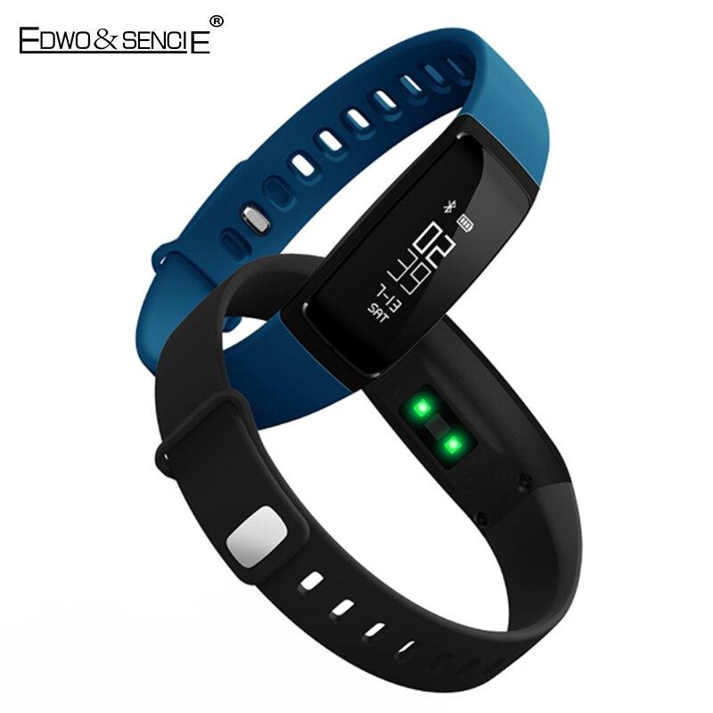 EDWO V07 Smart Band Watch Bluetooth 4 0 Blood Pressure Wristband Heart Rate Smartband Fitness Activity